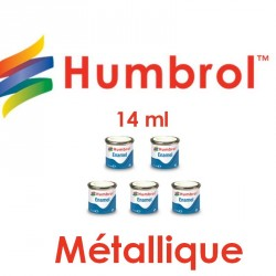 Peinture Enamel Humbrol métallique14 ml - Maketis