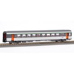 Voiture Corail VTU 2ème classe B11tu SNCF Ep V HO Piko 97109 - Maketis