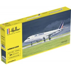 Avion Airbus A320AF 1/125 Heller 80449 - Maketis