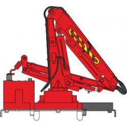 Grue de levage pour draisine et engin de chantier échelle HO - REE XB-851