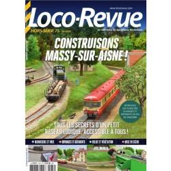 Construisons Massy-sur-Aisne Loco-revue HSLR75 - Maketis