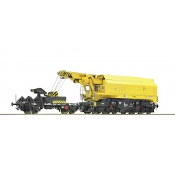 Grue ferroviaire EDK 750 DB Ep IV-V Digital son HO Roco 73035 - MAKETIS