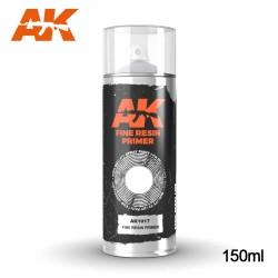 Bombe d'apprêt Gris spécial résine 150ml AK Interactive AK1017