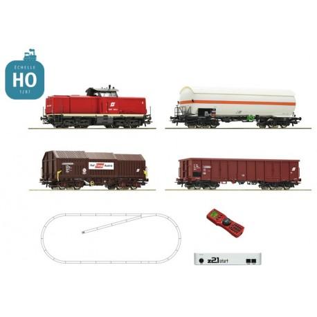 Coffret Digital Z21 Roco HO Loco diesel série 114 et 3 wagons DR Ep IV 51318 - Maketis