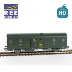 Fourgon DEV 52 3 feux modernes région SUD-OUEST SNCF Ep IV HO REE VB-344