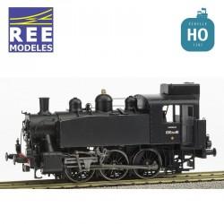 Locomotive vapeur 030 TU 46 Marseille FUEL SNCF Ep III Digital son HO REE MB-104S - Maketis