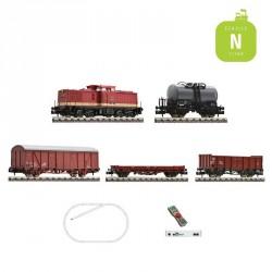 Coffret Digital Z21 Fleischmann N Train de marchandises DB Ep IV 931892 - Maketis