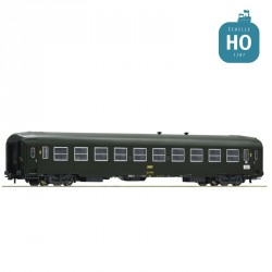 Voiture UIC-Y 2 ème classe B10 SNCF Ep IV HO Roco 74357
