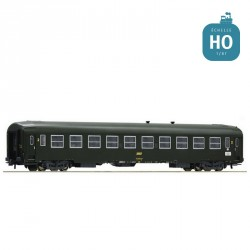 Voiture UIC-Y 2 ème classe B10 SNCF Ep IV HO Roco 74356
