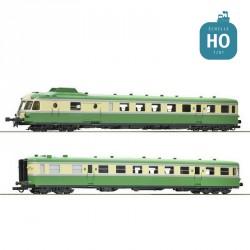 Autorail diesel X2720/XR 7700 SNCF Ep IV Analogique HO Roco 73006