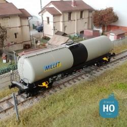 Wagon citerne à bogies Uahs SNCF Millet Ep IV HO Brawa 50503 - Maketis