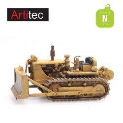 Bulldozer D7 jaune N (1/160) Artitec 316.064 - Maketis