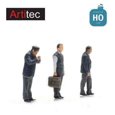 Conducteurs de bus debout HO Artitec 587.0002