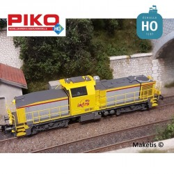 Locomotive BB60000 (660168) Infra SNCF Ep VI Digital sonore HO Piko 96484 - Maketis