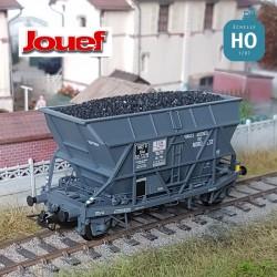 """Wagon trémie SNCF EF30 """"Forges et Aciéries du Nord Est"""" Ep III HO Jouef HJ6197 - Maketis"""
