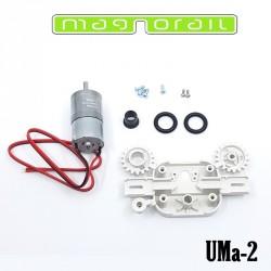 Motorset, langsamer Motor für Magnorail System UMa-2 - Maketis