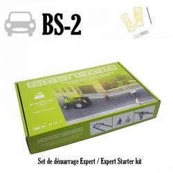 Pack complet Magnorail + 8 curseurs pour véhicules HO, TT, N, Z BS-2 - Maketis