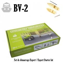 Komplett-Set Magnorail + 2 Boote HO/TT & N/Z BV-2 - Maketis