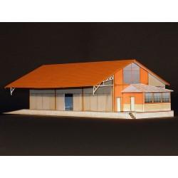Halle OUEST Briques 3 Portes (Dives‑Cabourg) HO Régions et Compagnies HAL201