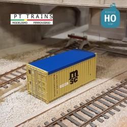 Container 20´ OPEN TOP MSC HO PT TRAINS 820501 - Maketis