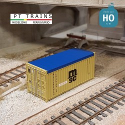 Container 20´ OPEN TOP MSC HO PT TRAINS 820501 - Maketis