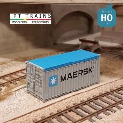 Container 20´OT MAERSK (MAEU4712377) HO PT TRAINS 820503.1 - Maketis