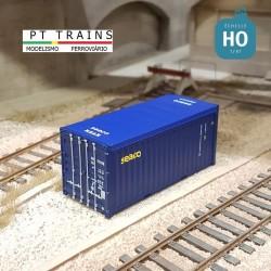 Container 20´ OPEN TOP W.E.C. LINES HO PT TRAINS 820506 - Maketis