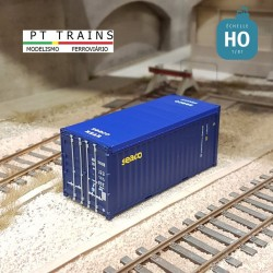 Container 20´ OPEN TOP W.E.C. LINES HO PT TRAINS 820506 - Maketis