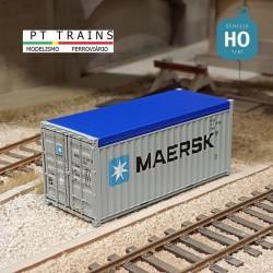 Container 20´ OPEN TOP SEACO HO PT TRAINS 820503 - Maketis