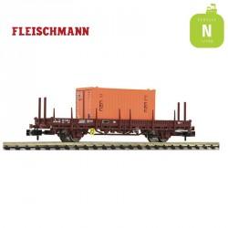 Wagon plat à ranchers pivotants SNCF EP IV N Fleischmann 825736