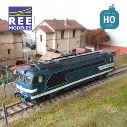 Locomotive diesel BB 67534 Ep.IV Dépôt de CAEN - Digitale Son HO REE MB-098 S