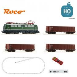 Coffret départ digital Z21 locomotive BR 140 + wagons DB Ep IV HO Roco 51330 - Maketis