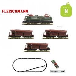 Coffret départ digital Z21 start locomotive BR 151 + wagons DB Ep IV N Fleischmann 931896 - Maketis