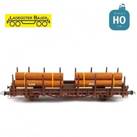 To iron pipes 2nd set H0 Ladegüter Bauer H01001 - Maketis
