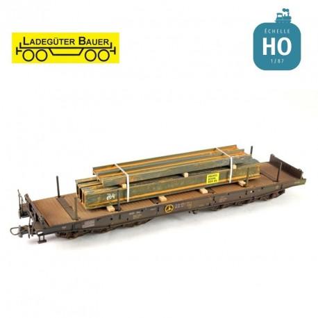 Doppel-T-Trager H0 Ladegüter Bauer H01002 - Maketis