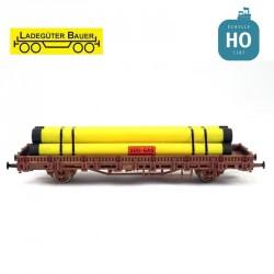 Tuyaux de gaz HO Ladegüter Bauer H01018