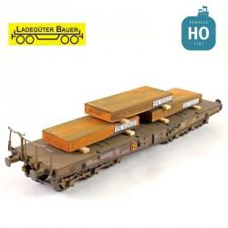Iron slab (3 pcs) H0 Ladegüter Bauer H01034