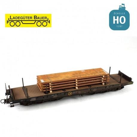 Stahlplatten, Groß H0 Ladegüter Bauer H01045 - Maketis
