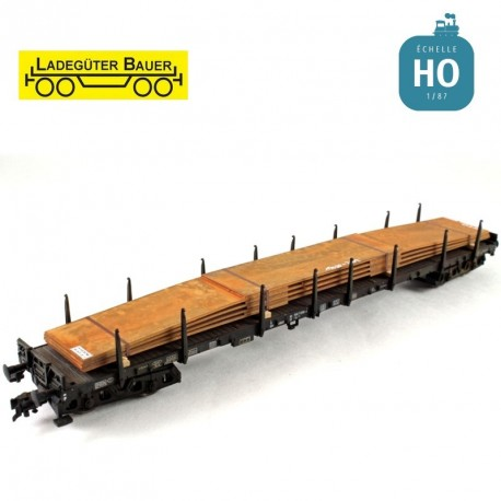 geschichtete Stahlplatten HO Ladegüter Bauer H01056 - Maketis