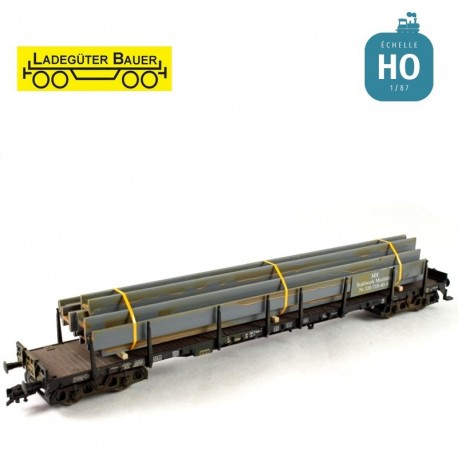 Pièces métalliques en H HO Ladegüter Bauer H01058 - Maketis