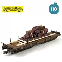 Vieux moteur diesel HO Ladegüter Bauer H01118 - Maketis