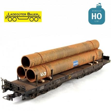 Lange Stahlrohre H0 Ladegüter Bauer H01132 - Maketis