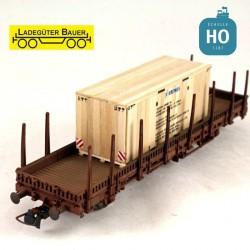 Caisse bois pour transport de machine « Krones » HO Ladegüter Bauer H01169 - Maketis