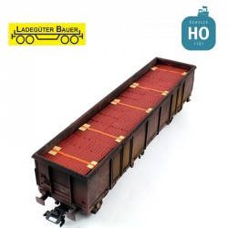 Brick stones, small for bogie open freight cars type Eaos H0 Ladegüter Bauer H01181 - Maketis