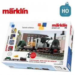"Coffret de départ Start up ""je me lance"" Vapeur Ep III HO Märklin 29133 - Maketis"