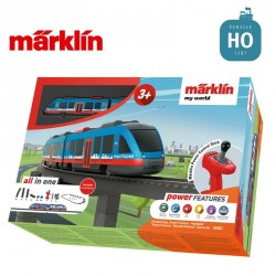 "Coffret de départ ""my world"" Métro aérien Airport Express HO Märklin 29307 - Maketis"