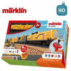 "Coffret de départ ""my world"" Train de chantier HO Märklin 29341 - Maketis"