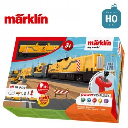 "Coffret de départ ""my world"" Train de chantier HO Märklin 29341 - Maketis"