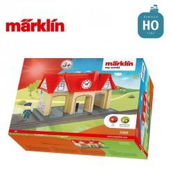 """Gare sonorisée """"my world"""" HO Märklin 72209 - Maketis"""