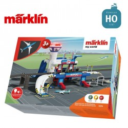 "Aéroport avec fonctions lumineuses et sonores ""my world"" HO Märklin 72216 - Maketis"